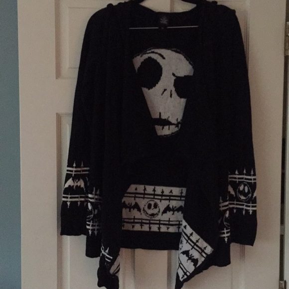 Hot Topic Nightmare Before Christmas Sweater.Hot Topic Nightmare Before Christmas Sweater